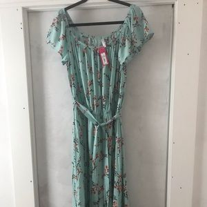NWT Xhilaration Floral Long Dress